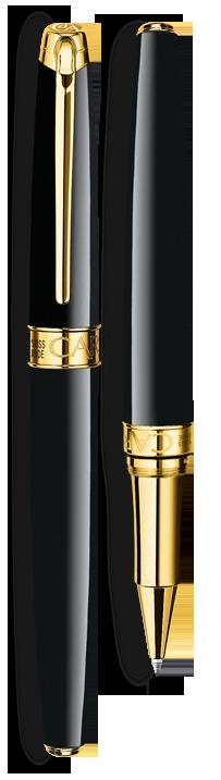 Bút dạ LÉMAN EBONY BLACK gold-plated