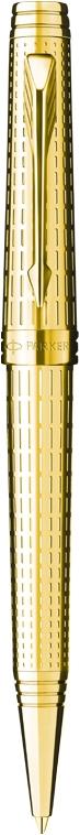 Bút bi parker Premier 09 dulux Gold cài vàng
