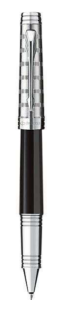 Bút dạ Parker Premier dulux black cài trắng