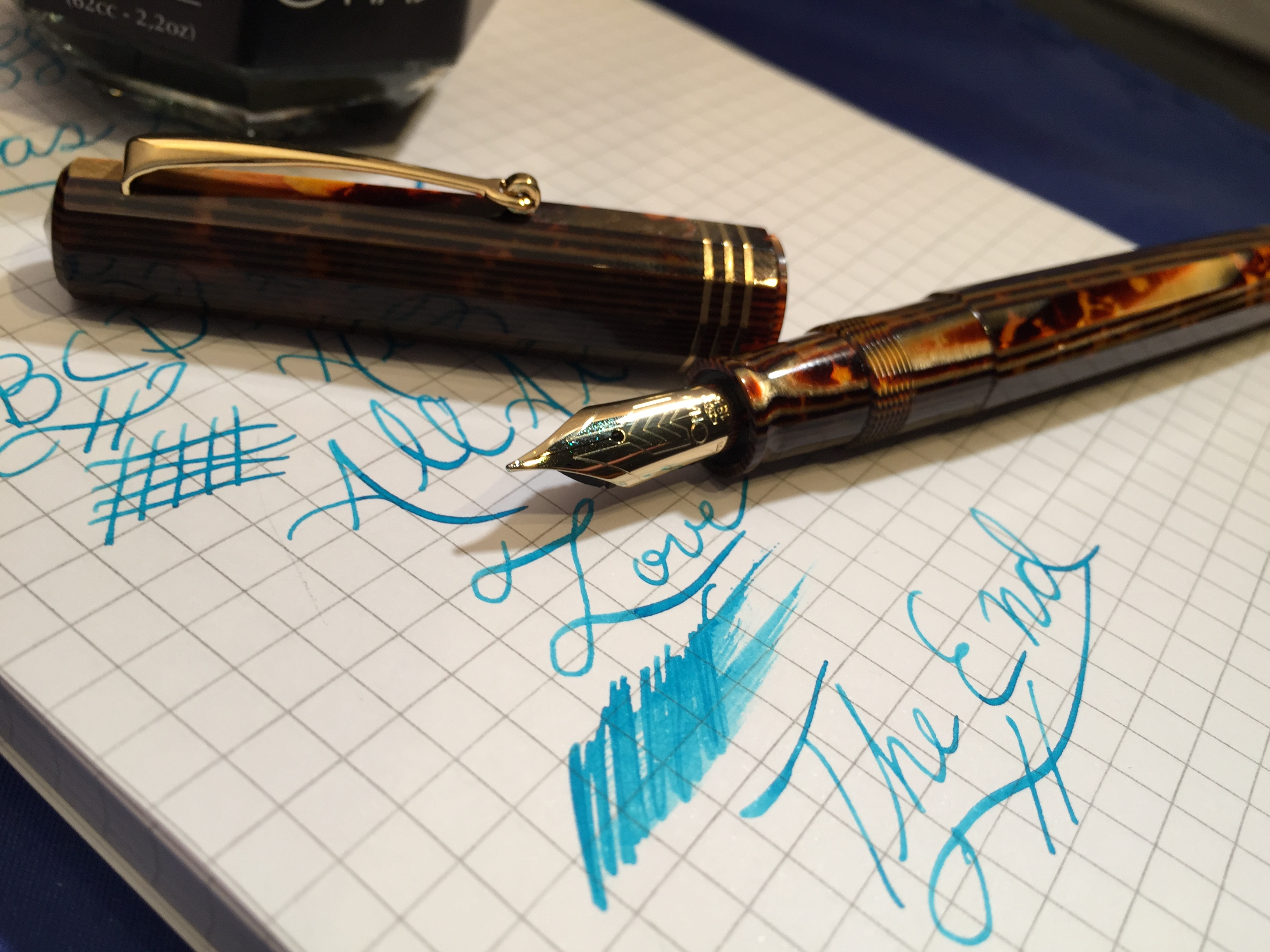 OMAS Paragon LE Arco Celluloid Review