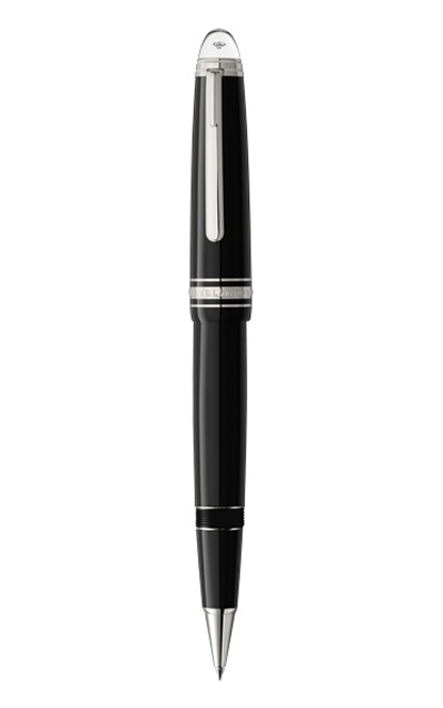 Bút dạ MONTBLANC MEISTERSTUCK Le Grand DIAMOND  BLACK RESIN PLATINUM