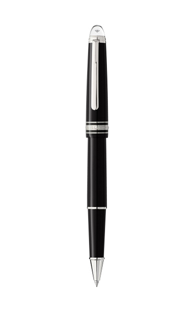 Bút dạ MONTBLANC MEISTERSTUCK Classique DIAMOND BLACK RESIN PLATINUM