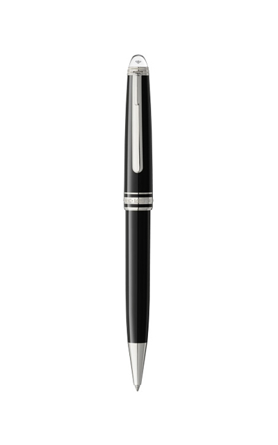 Bút bi MONTBLANC MEISTERSTUCK Classique DIAMOND  BLACK RESIN PLATINUM