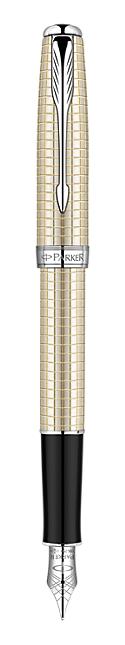 Bút máy Parker Sonnet 10 sterling Silver (Bạc khối) ST