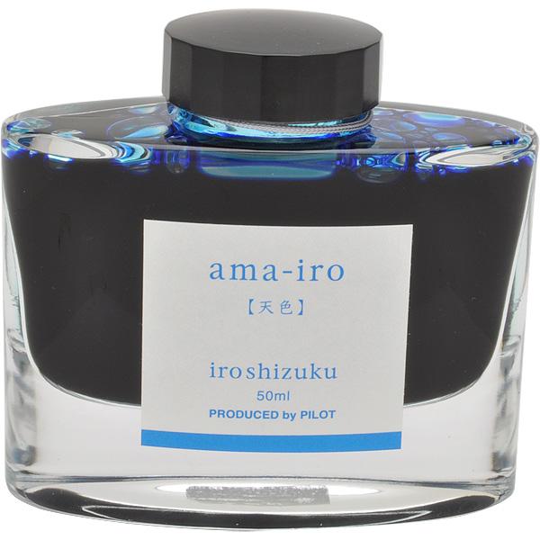 Mực PILOT NAMIKI Iroshizuku Amairo ( màu trời xanh) hộp 50ml [INK-50-AMA]
