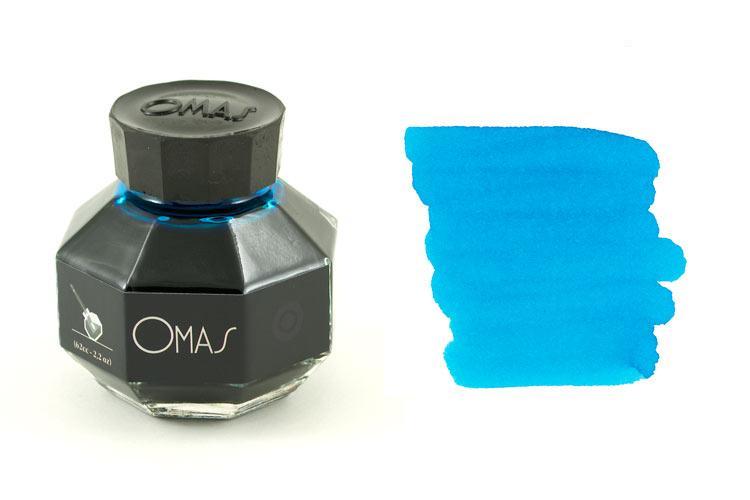 Mực OMAS màu xanh lam (Lọ 62ml)