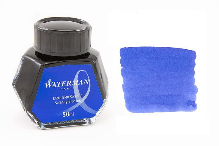 Mực Waterman màu xanh Blue (Lọ 50ml)