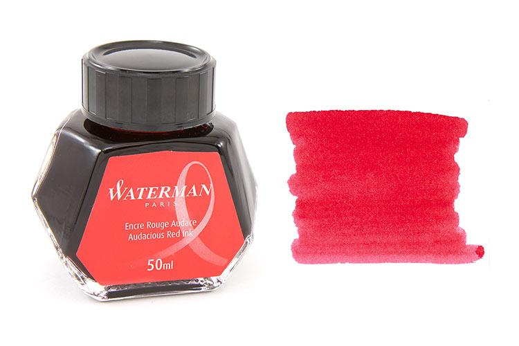 Mực Waterman màu đỏ (Lọ 50ml)