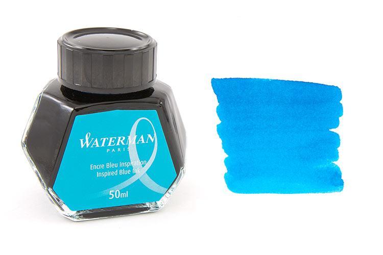 Mực Waterman màu xanh nước biển  (Lọ 50ml)