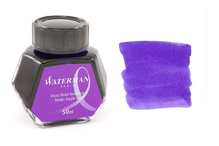 Mực Waterman màu tím (Lọ 50ml)