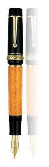 Bút máy Delta Dolcevita Oversize Gold Plated
