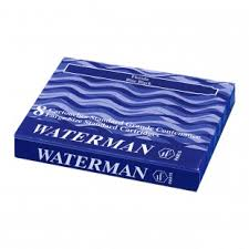 Ống mực Waterman màu xanh blue