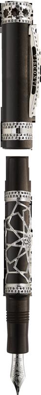 Bút máy Extase d'Oud Black Diamonds HRH