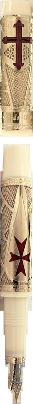 Bút máy Jacques de Molay Gold