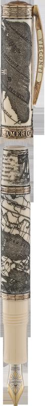 Bút máy Amerigo Vespucci Marine Bronze