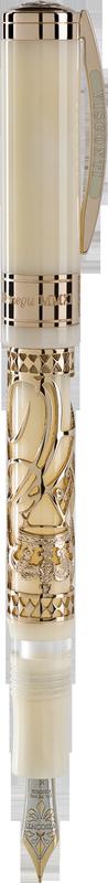 Bút máy Princely Wedding AG925 mạ vàng