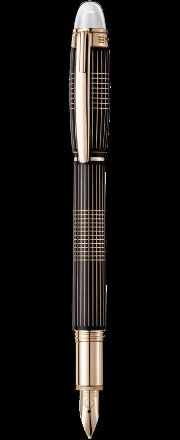Bút máy Montblanc StarWalker Red Gold Plated Metal GT
