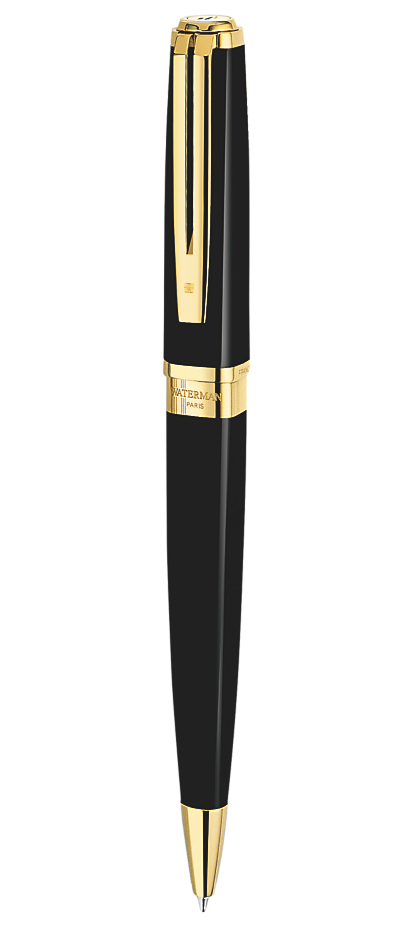 Bút bi Waterman Exception slim Black GT