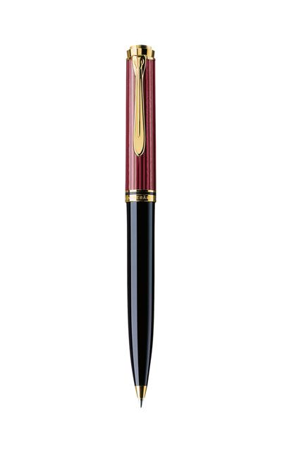 Bút bi Pelikan Souverän Black-Red K800