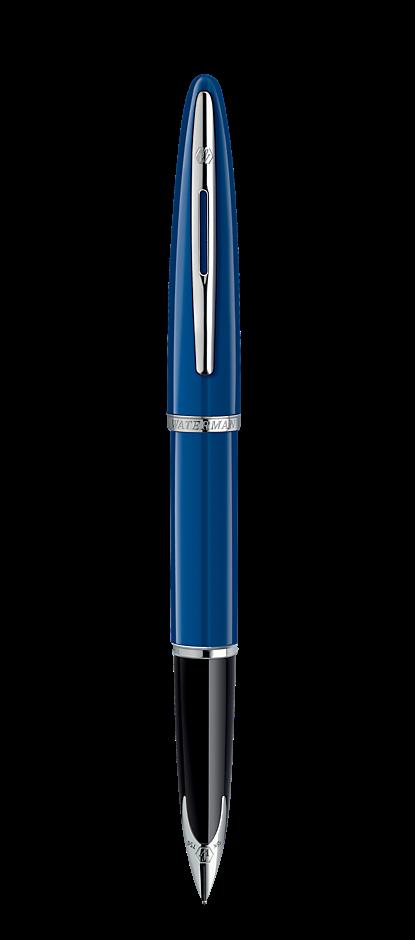 Bút máy waterman carene blue cài trắng