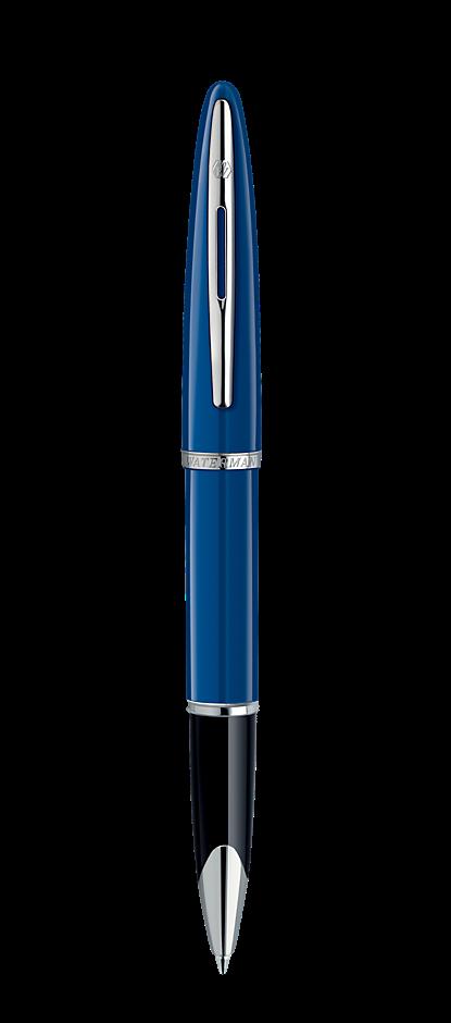 Bút dạ Waterman Carrene blue cài trắng